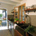 Casa di l'onda superbe cuisine d'été à côté de la bergerie