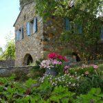 Casa di l'onda maison et jardins fleuri en corse