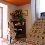 Casa di l'onda entrée hall d'accueil de la villa